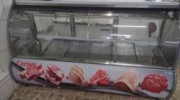 Balcão expositor de carne
