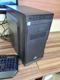 Pc gamer i3 8100 placa video nvidia gt 1030 8gb ram hd 1tb