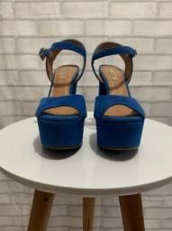 Sandália feminina Via Uno meia pata - 36