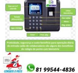 Relógio de Ponto Biométrico de Impressão Digital Usb só zap