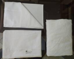 Conjunto de lençol branco Mini berço - Novo