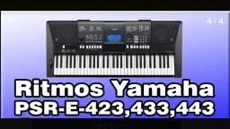 Ritmos bailão para teclados Yamaha linha E