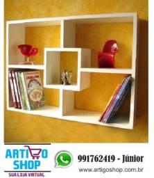 Nicho Prateleira Mdf Branco - 70x50x15cm