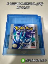 Pokemon cristal (gameboy)