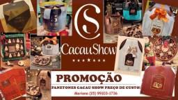 Panetones Cacau Show