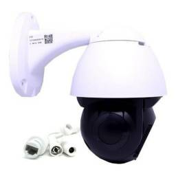 Câmera IP A Prova D'água Externa Wifi HD 2MP - Monitoramento 24h em tempo real