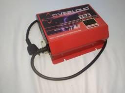 Fonte Automotiva 70A Overloud Bivolt Carregador Bateria Som