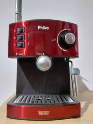Cafeteira expresso 20 bar inox red - Philco