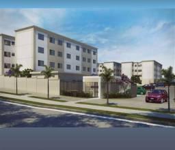 (Edr) apartamento com 2 quartos 100% financiado