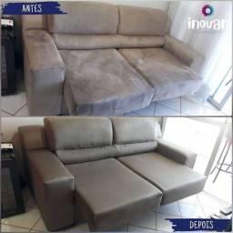 Promoção lavamos sofá a seco