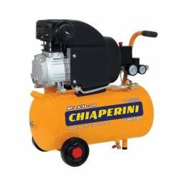 Motocompressor de ar 21 litros 2HP - Chiaperini MC 7.6/21 R$ 1190,00