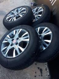 Rodas modelo palio Sporting com pneus PIRELLI