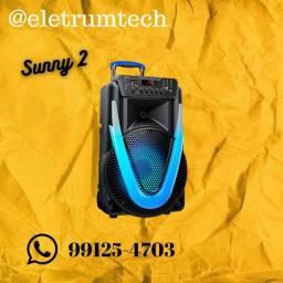 2.Caixa de Som Amplificada Multilaser Sunny II 500w
