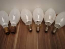 Lote: 6 lâmpadas Luz mista / Potencia: 250 w E27 / 500 w E40 tensão 220 v