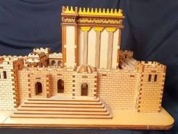 Templo de Salomão Escultura em madeira