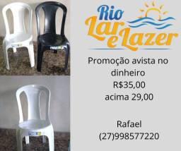 Cadeira plasticoo oferta
