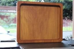 """Gamela quadrada - """"bandeja"""" 30cm x 35cm x 3,5cm cavidade de 2cm"""
