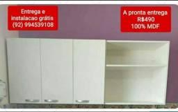 Armário de cozinha de parede em mdf chama no watzap os interessados porfavo *5