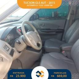 Tucson GLS 2015 - Apenas 63.000km