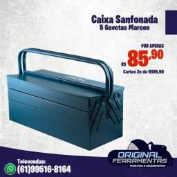 Caixa Sanfonada 5 Gavetas 550 Marcon
