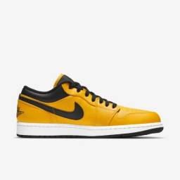 Tênis Nike Air Jordan 1 Low University Gold Tam 45