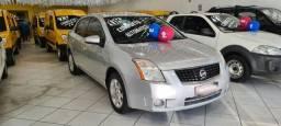 Nissan Sentra SL 2.0 Aut. 2008 Prata Completo Super Novo Doc OK