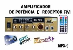 Amplificador Lelong LE 705
