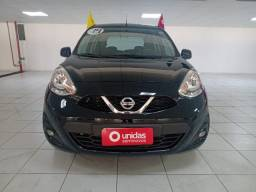 Nissan March SV Automático - Impecável - IPVA 2021 Pago