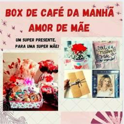 Box/Cesta de café da manhã - Amor de Mãe