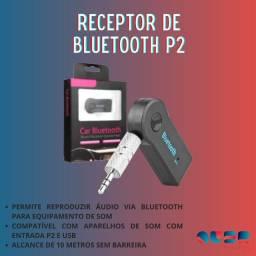 Adaptador de bluetooth para som de carro P2 e USB PROMOÇÃO IMPERDIVEL