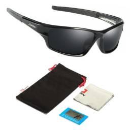 Óculos De Sol Esportivo Masculino Feminino Polarizado UV400 Anti Reflexo D620 Original