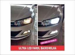 Ultra Led Premium Farol Baixo e Milha Polo/Virtus!!