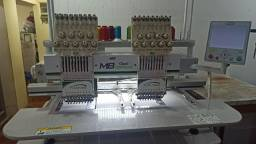 Máquina de bordado industrial 2 cabeças Futurize