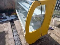 Torro balcão refrigerado 2 metros gelopar