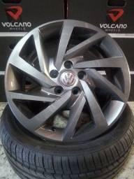 """Aro 15 VW-Rodas Virtus 15"""" Novas! Na caixa! ACEITO CARTÃO!"""