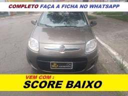 Financiamento com score baixo Fiat Palio Completo punto