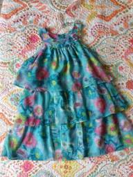 Vestido de festa infantil da Momi. (Desapega Infantil)