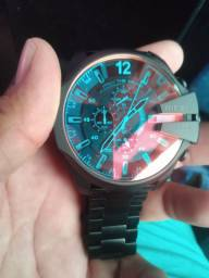 Relógio da diesel vidro camaleão 10 dar modelo dz4318