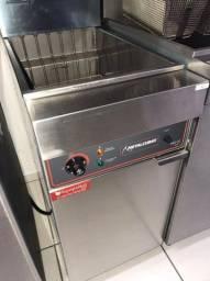 Fritador Trifásico Água e Óleo - 2 Cestos - (15.000W) - Metalcubas - Matheus