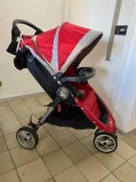 Carrinho de Bebê Baby Jogger City Mini Vermelho