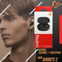 Redmi Airdots 2 - Fone Bluetooth   Original Xiaomi   Lacrado com garantia
