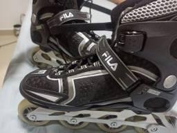 Patins Fila Skates Inline Bond kf com Rolamemtos ABEC 7