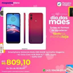 Smartphone Motorola Moto E6S 64GB Vermelho Magenta<br>(Leia a Descrição)<br>