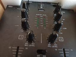 Mixer DJ Profissional - Novo na caixa.