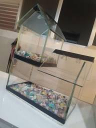 Aquário para dois peixinhos