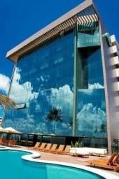 Ritz Suítes - Studio, Beira Mar, mobiliado com vista mar