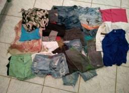 Lote de roupas...