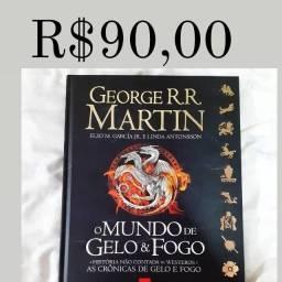 Livro Games of Thrones GOT