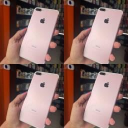 Qualidade hein!!! @@ iPhone 7 Plus - 32 Gb; Seminovo Rosa @@