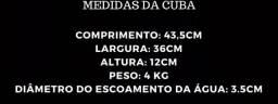 Cuba / Pia De Apoio P/ Banheiro